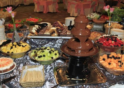 Chocolate Fountain at Coast High Country Inn
