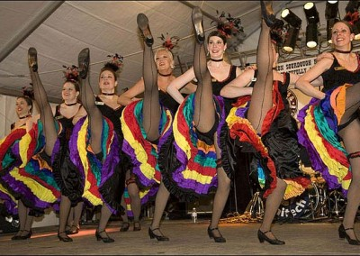 Can Can Dancers at Event