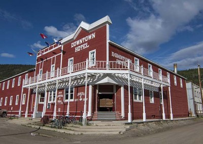 Downtown Hotel – Dawson City, Yukon