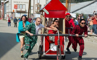 Great International Klondike Outhouse Race